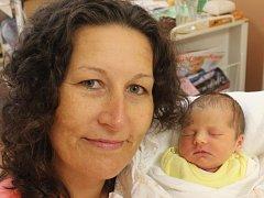 Slávka Naušová zBěšin (2940 g, 48 cm) se narodila vKlatovech 16. září ve 13.10 hodin.  Rodiče Stanislava a Zdeněk věděli, že jejich prvorozené miminko bude holčička.
