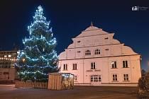 Vánoční strom v Nýrsku.