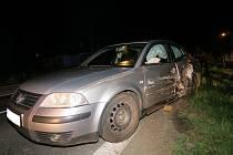 Nehoda VW Passat. Ilustrační foto.