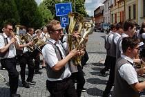 Švihovské hudební léto – 45. ročník přehlídky mládežnických dechových orchestrů a pohybových skupin.