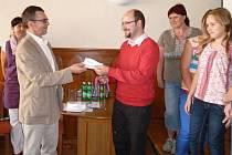Vyhlášení soutěže trojrozměrných výrobků v Klatovech