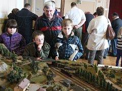 Výstava mašinek v Klatovech