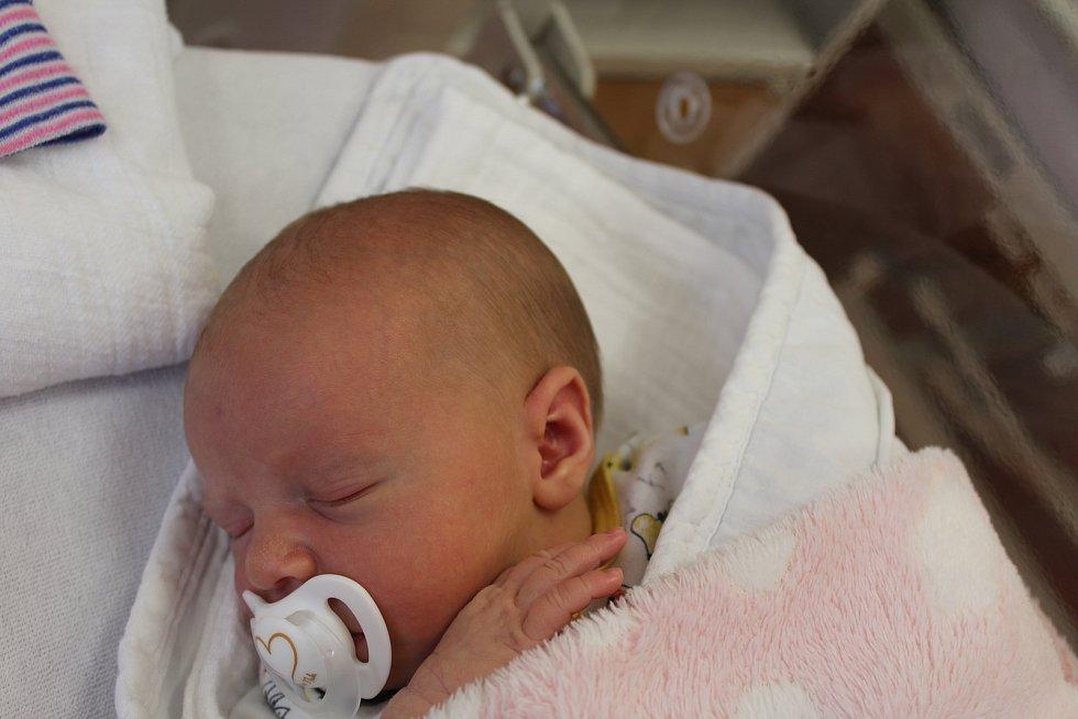 Lucie Janečková zNemilkova se narodila vklatovské porodnici 14. září v18:55 hodin (3180 g, 50 cm). Rodiče Eva a Miroslav věděli dopředu, že jejich druhorozeným miminkem bude holčička. Doma se na malou sestřičku těší dvouletý Matýsek.