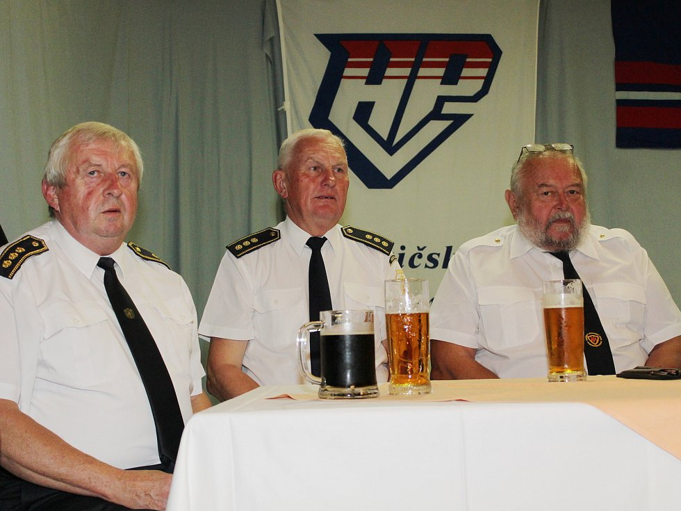 Vyhlášení Pošumavské hasičské ligy 2018 ve Vrhavči.