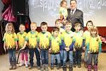 Dětská výroční valná hromada ve Štěpánovicích u Klatov.
