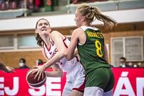 Česko vs. Litva 50:73.