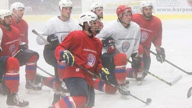 V pondělí vyjeli hokejisté SHC Klatovy před novou sezonou poprvé na led.