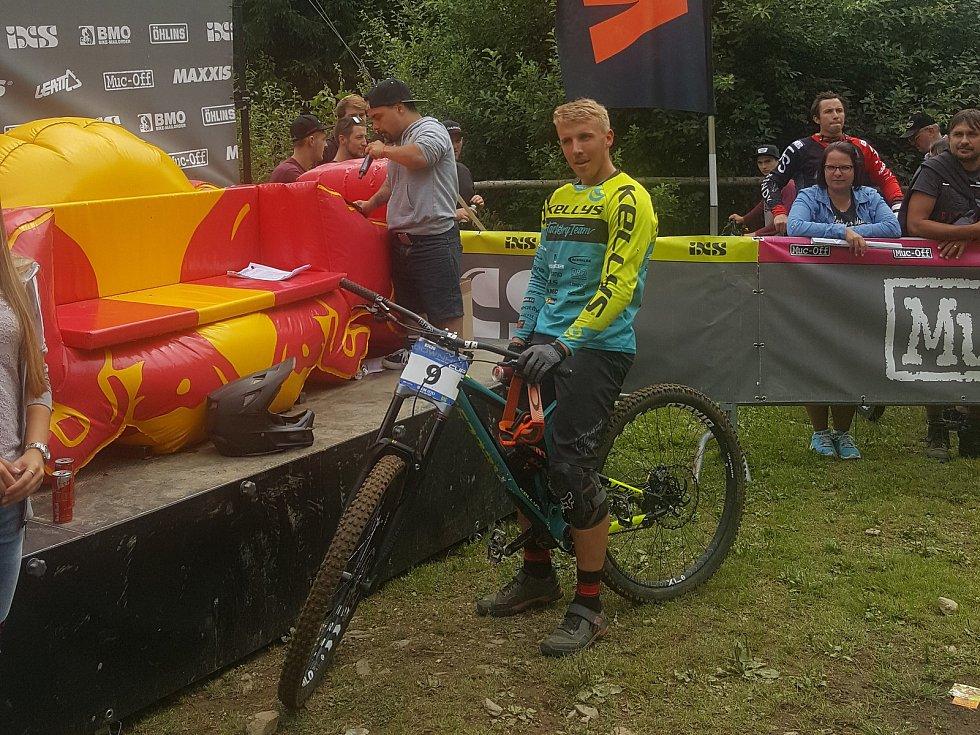 Loňský vítěz Stanislav Sehnal.