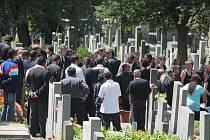 Klatovy pohřeb Jana