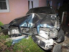 Nehoda opilého cizince v Nýrsku.