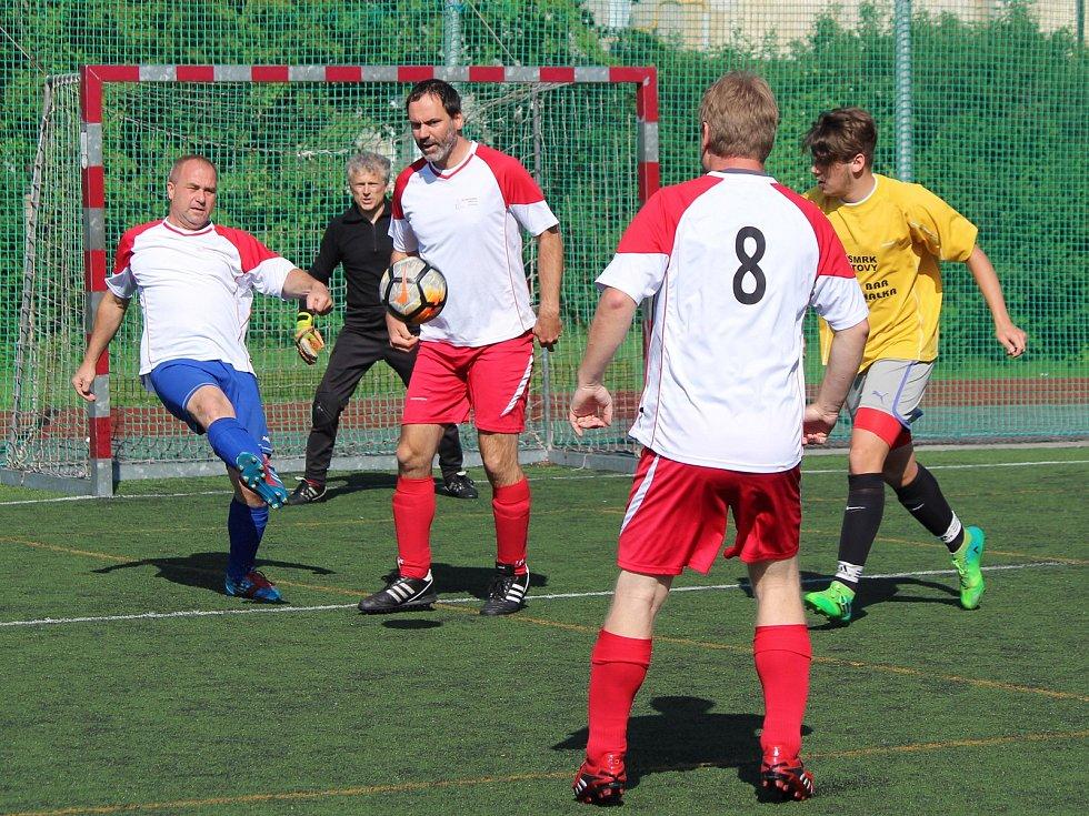 Kapitol liga 2018: Draci Klatovy (bílé dresy) - ST Smrk Klatovy