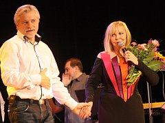 Vystoupení Hany Zagorové a Petra Rezka v Klatovech