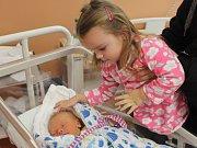 Jakub Farkaš z Netunic (3570 g, 51 cm) uviděl světlo světa v klatovské porodnici 6. ledna v 10.19 hodin. Rodiče Petra a David přivítali svého syna na svět společně. Z narození brášky má radost sestřička Ella (2,5).