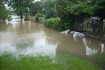Povodně v Kalu.