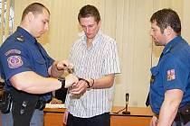 Petr Sebera u soudu v Klatovech