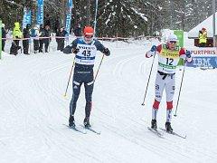 Jan Šrail v závodě Ski Classics 2017/2018 - Vasův běh.