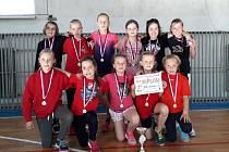 Přípravka Klatov složená pouze z dívek se zúčastnila turnaje v Holýšově na Domažlicku.