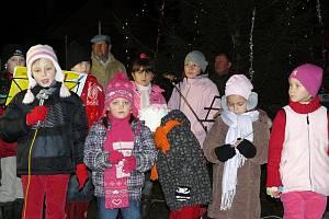 Rozsvícení vánočního stromu v Pačejově