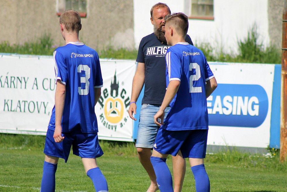SK Klatovy 1898 (červení) - TJ Sušice 10:0.