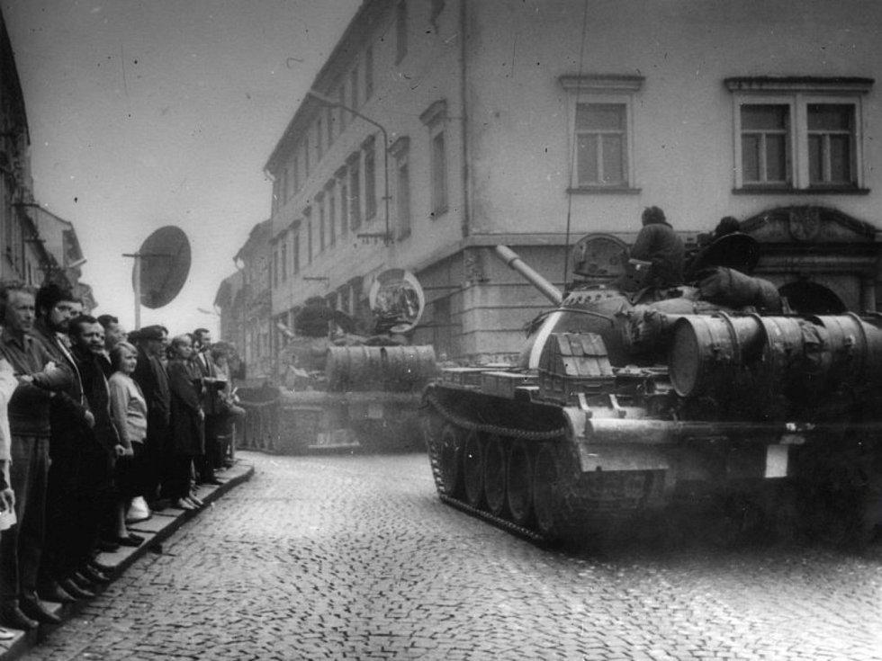 Srpen 1968 v Klatovech a Sušici.