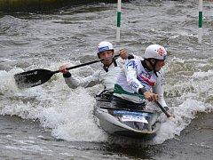 Vít Pohanka (KK Klatovy) a Antonie Galušková (KVS Sušice) vyhráli ČP juniorů 2017 ve vodním slalomu.
