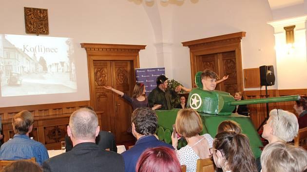 V Sále klatovské radnice se minulý týden uskutečnila slavnostní prezentace projektu Příběhy našich sousedů.