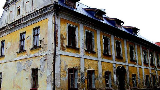 Budova Farního úřadu v Klatovech