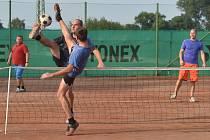 V Tajanově u Klatov se uskuteční nohejbalový turnaj trojic.
