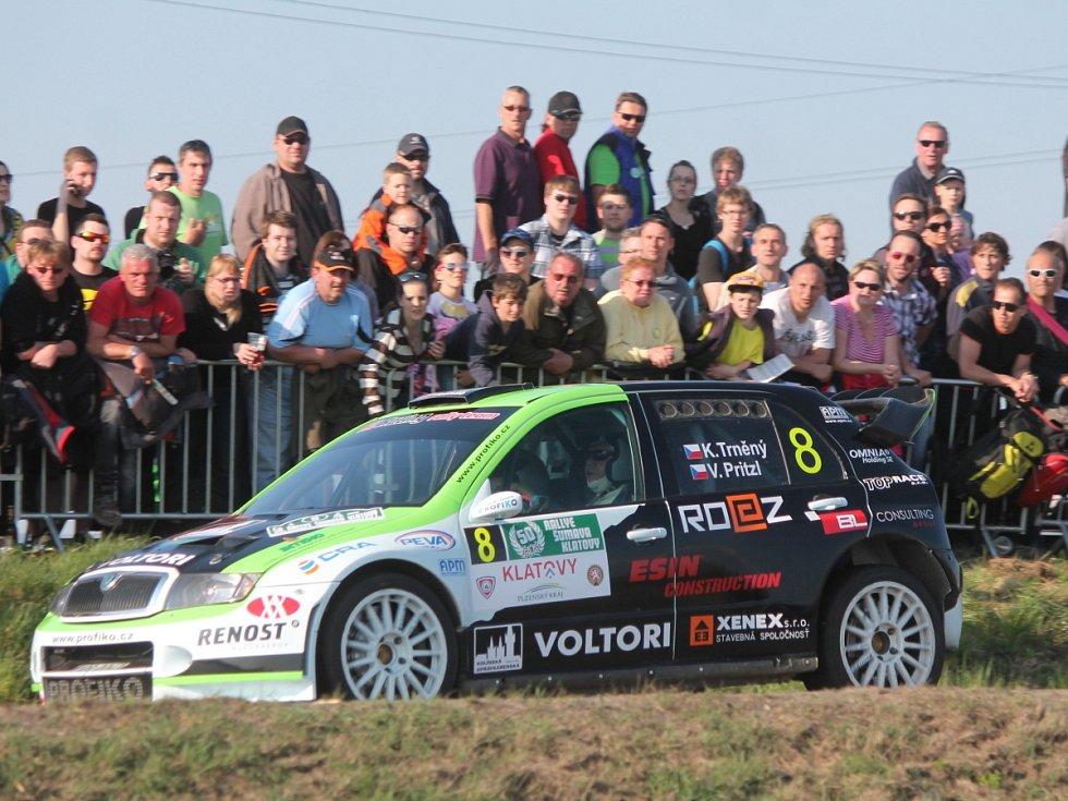 RZ 1 50. Rallye Šumava Klatovy.