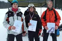 lyžování zimní olympiáda Železná Ruda