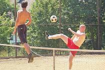 Nohejbalový turnaj v Běhařově