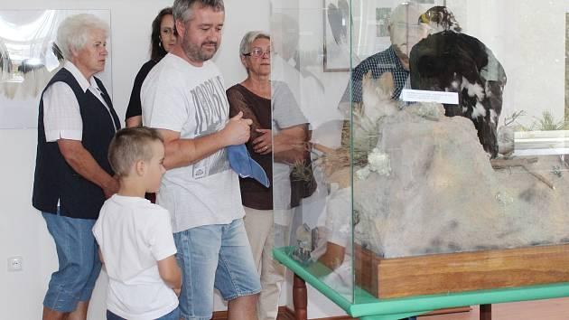 V sobotu otevřeli v Rabí muzeum sokolnictví a řemesel.