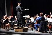 Novoroční koncert symfonického orchestru ZUŠ.