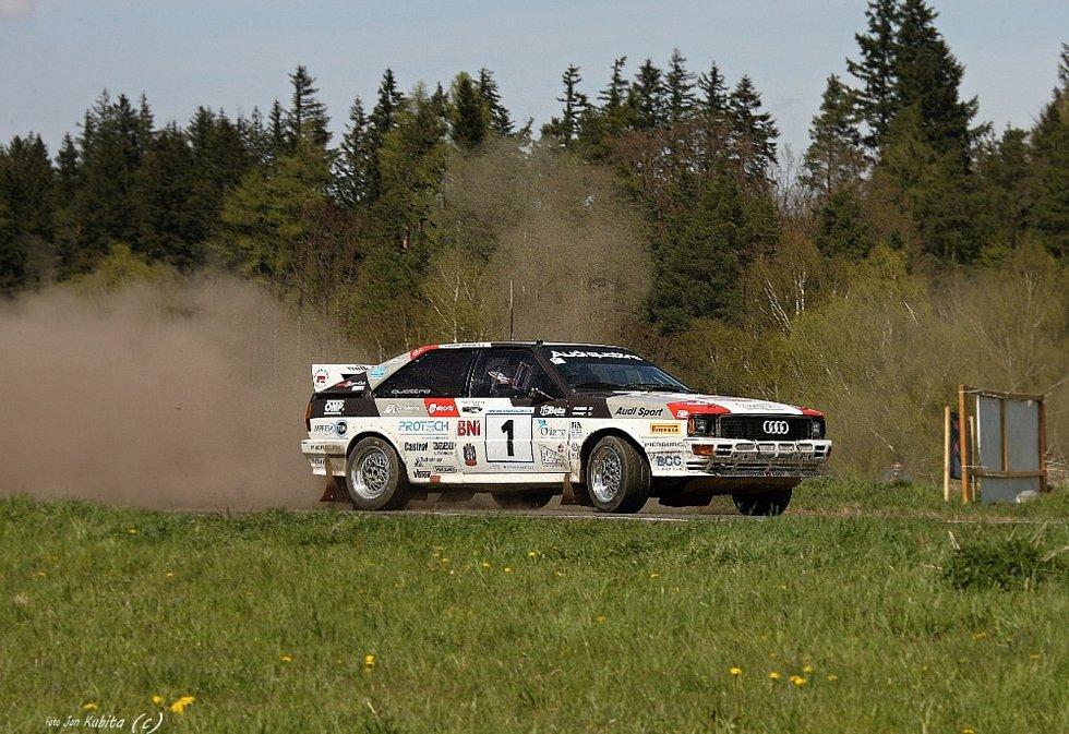Rallye Šumava Klatovy a Historic Vltava Rallye.