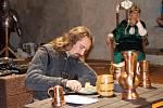 Libor Marek seznámil návštěvníky Švihova s tím, co se jedlo ve středověku.