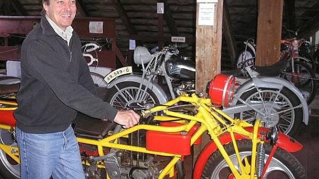 Muzeum historických motocyklů v Kašperských Horách