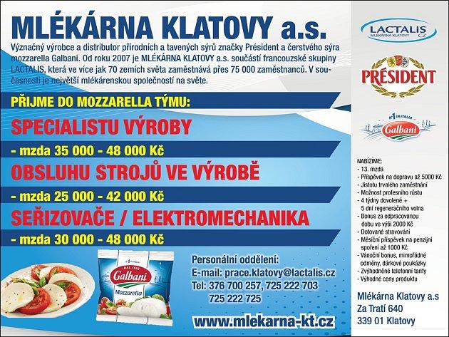 Mlékárna Klatovy