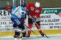Starší žáci HC Klatovy na domácím ledě v dalším utkání jihočeské žákovské hokejové ligy porazili své vrstevnííky z OLH Soběslav 6:3.