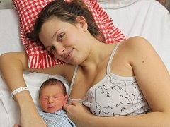 Michael Pokštefl z Domažlic (2800 gramů, 49 cm) se narodil v klatovské porodnici 4. prosince ve 4.15 hodin. Rodiče Kateřina a Jan přivítali očekávaného prvorozeného synka na svět společně.