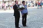 Oslavy 73. výročí osvobození v Klatovech