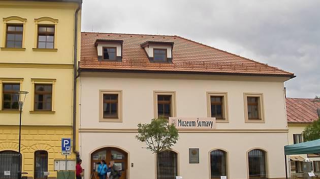 Muzeum Šumavy vKašperských Horách.