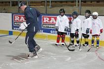 Červencový hokejový kemp pro mládež v Klatovech.