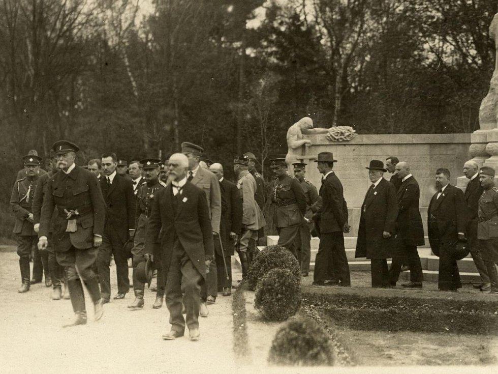 Prezident T. G. Masaryk byl v květnu 1923