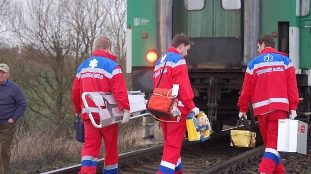 Nedaleko Točníka srazil dnes (19. března) před 17. hodinou vlak jedoucí z Klatov do Plzně 37letého muže z Klatov