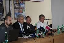 Tisková konference v Klatovské nemocnici