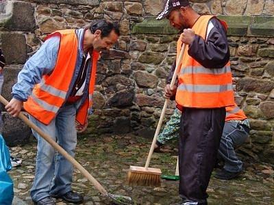 Město Klatovy využívá práce dlouhodobě nezaměstnaných osob