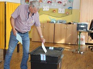 Začátek voleb v Klatovech