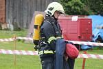 Železný hasič ve Spůli.