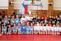 Basketbalový turnaj ČBF U10 si všichni užili.