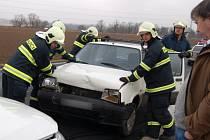 Dopravní nehoda v Beňovech